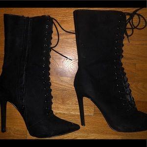 Fashion Nova Shoes   Elektra Lace Up